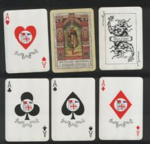 Collectible Vintage shipping Advertising playing cards New Zealand & Federal Steamship